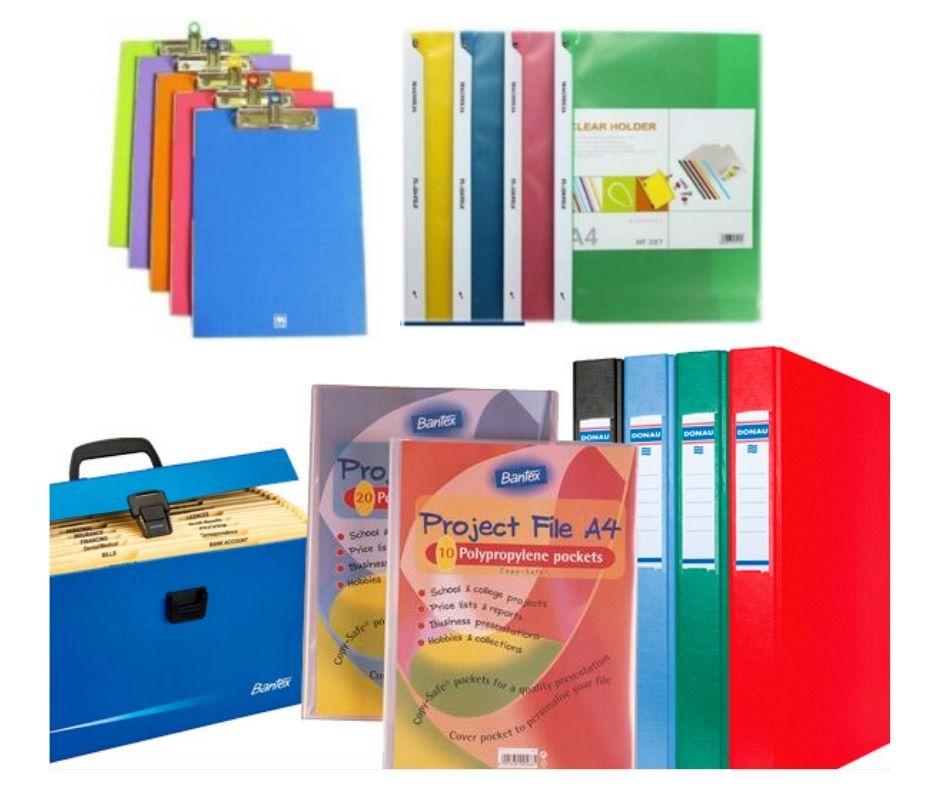 Lưu trữ hồ sơ - Bìa file